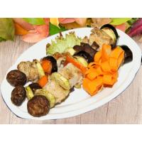 Шашлычок из индейки АМАЗОНКА с овощами