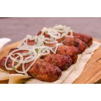 Кебаб из свинины-говядины