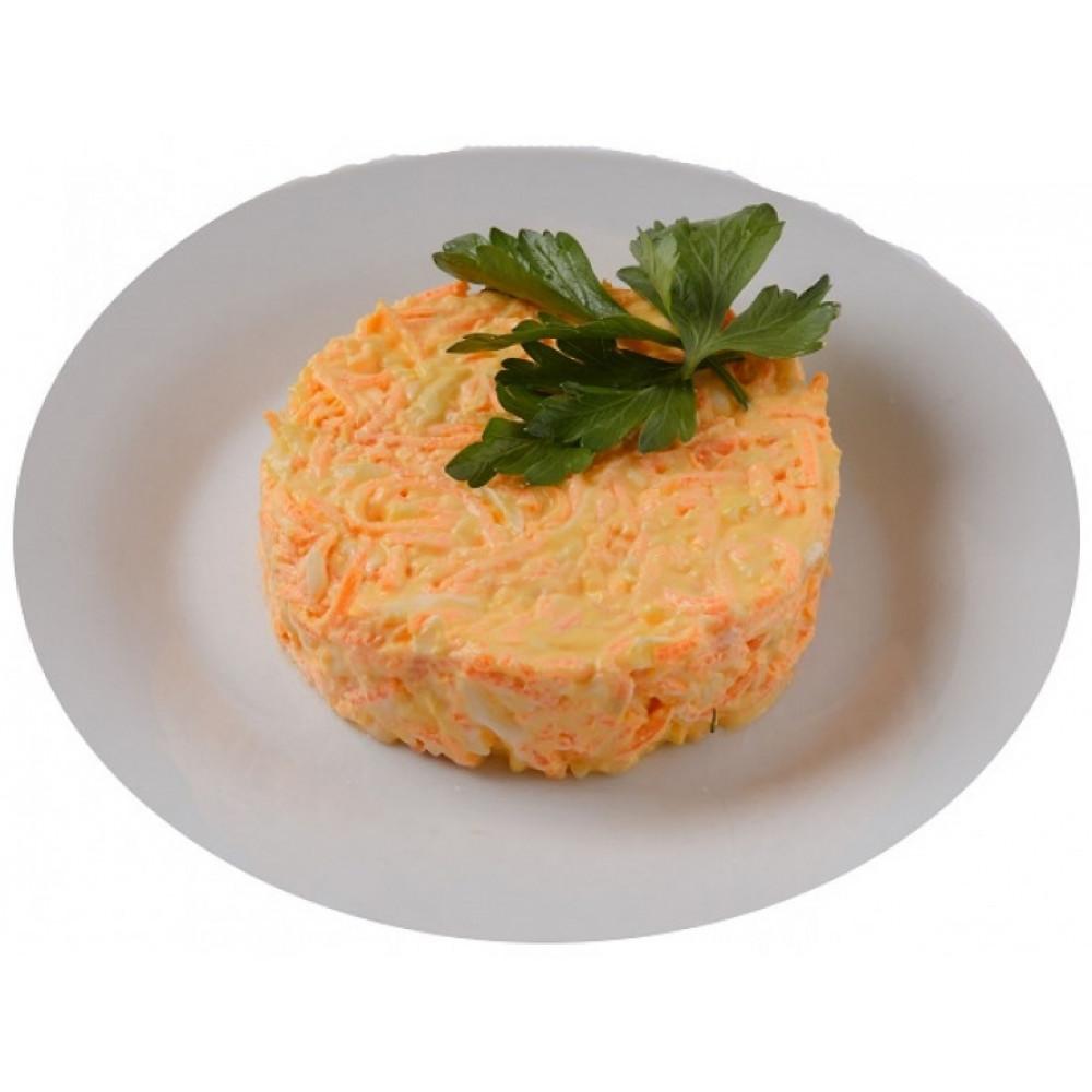 Салат из моркови с сыром (офис)
