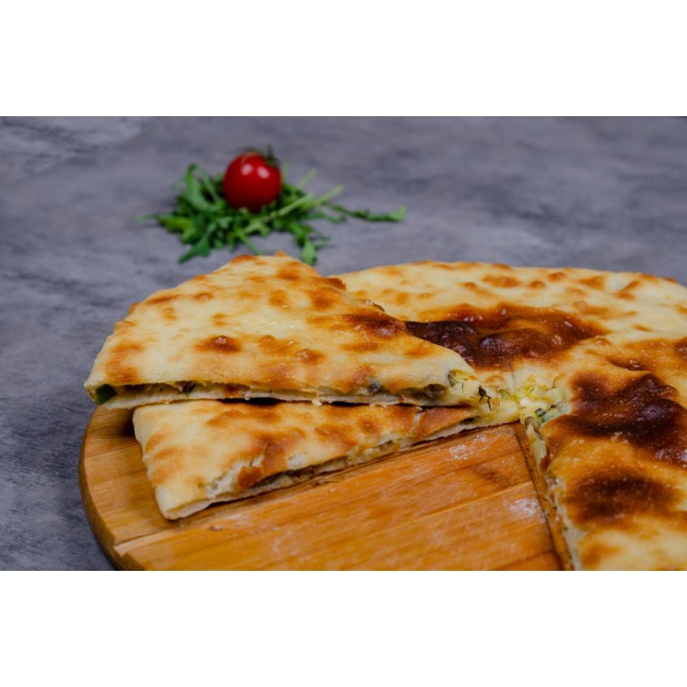 Пирог ОСЕТИНСКИЙ с картофелем, грибами и сыром
