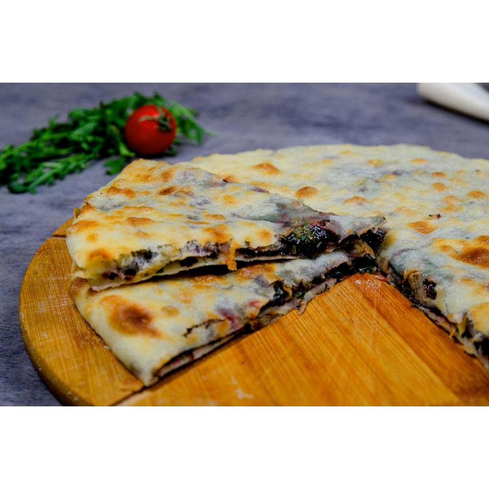 Пирог ОСЕТИНСКИЙ со свекольной ботвой и сыром