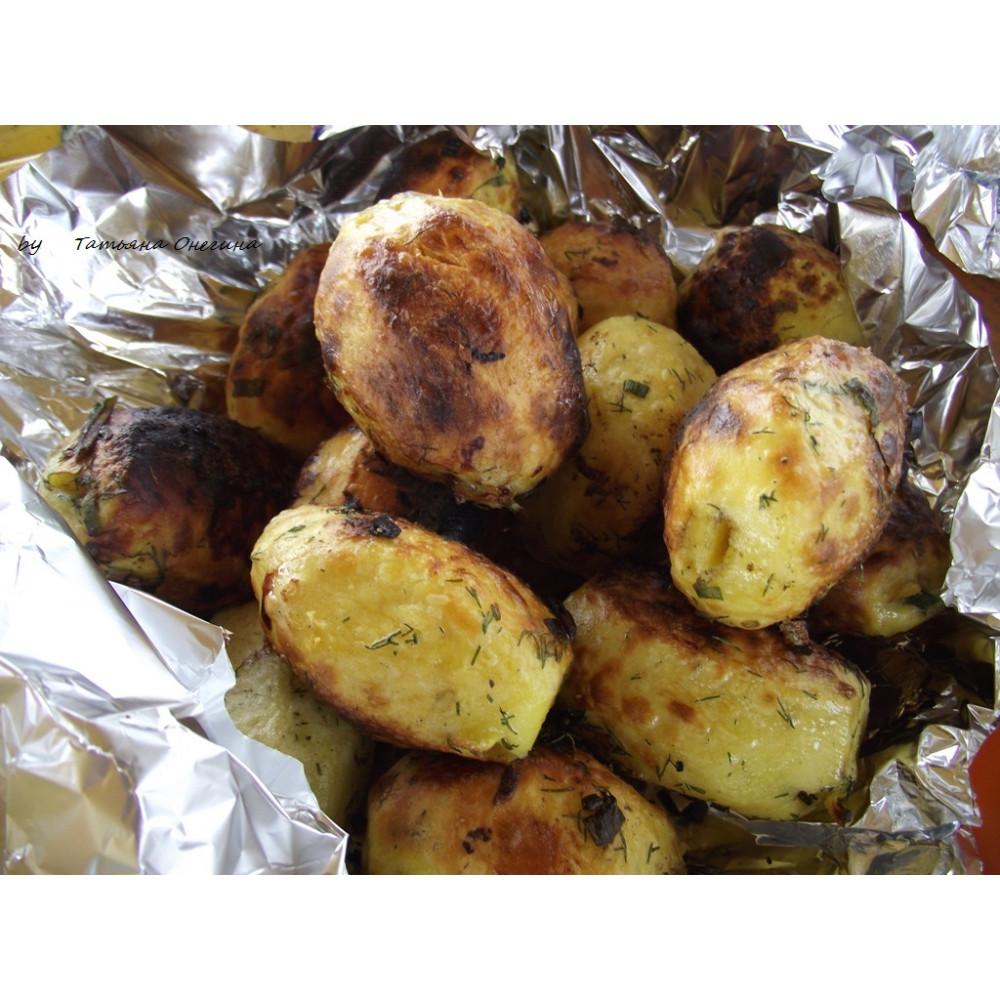 Картофель на мангале (150 гр)