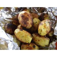 Картофель на мангале  200 гр