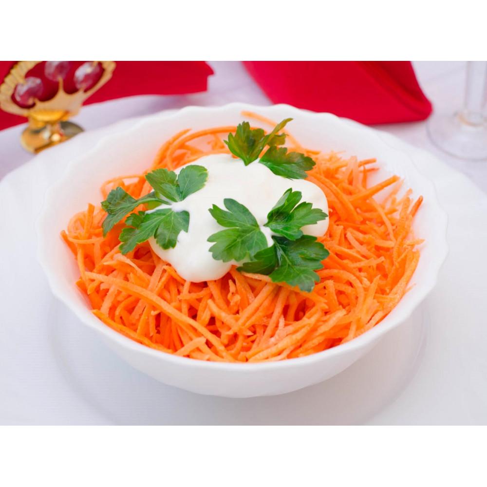 Салат из моркови со сметаной (офис)