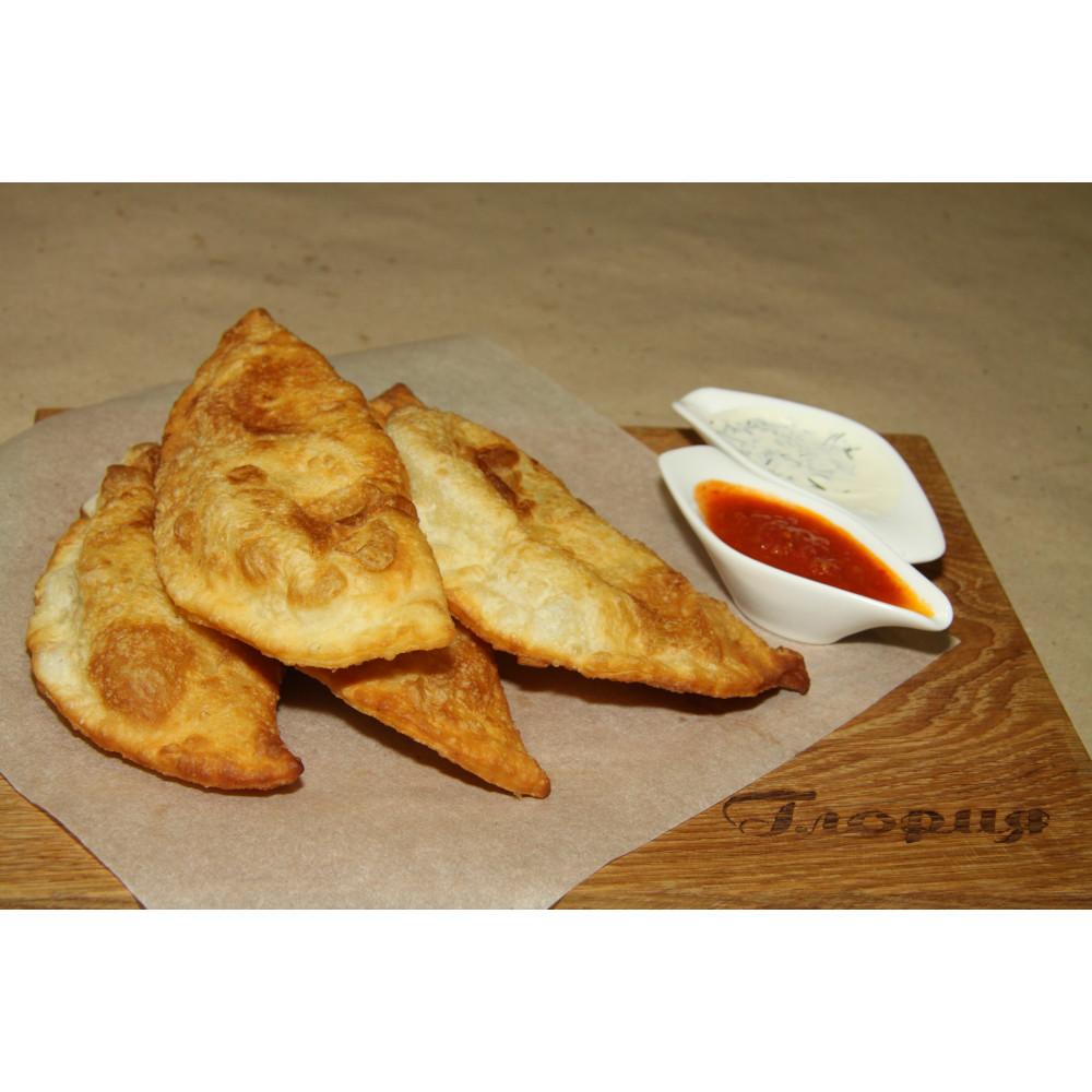 Чебуреки с картофелем и сыром, 4 шт